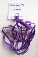 4mm Violet 236 silk ribbon