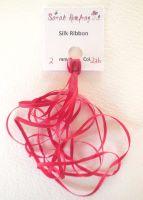 2mm Red 226 silk ribbon