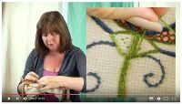 YouTube satin stitch image