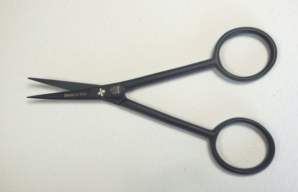 Embroidery scissors, curved blades