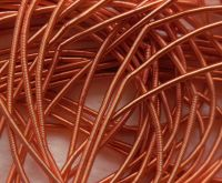 Copper rough purl No. 6 - 50cm