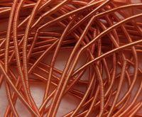 Copper rough purl No. 6 - 50cm