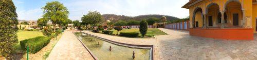 Kanak Bagh panoramic