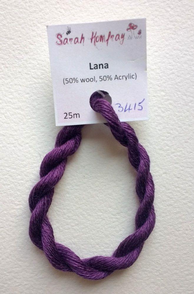 3415 Purple Lana thread (purple) NEW COLOUR!