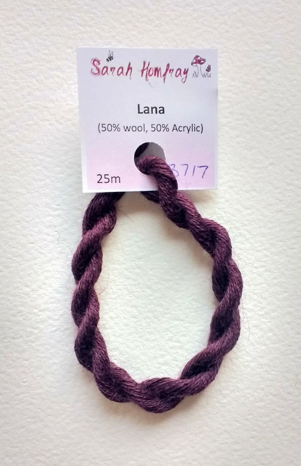 3717 Burgundy Lana thread (red) NEW COLOUR!