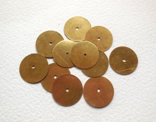 Metal Sequins, I - Plain disc