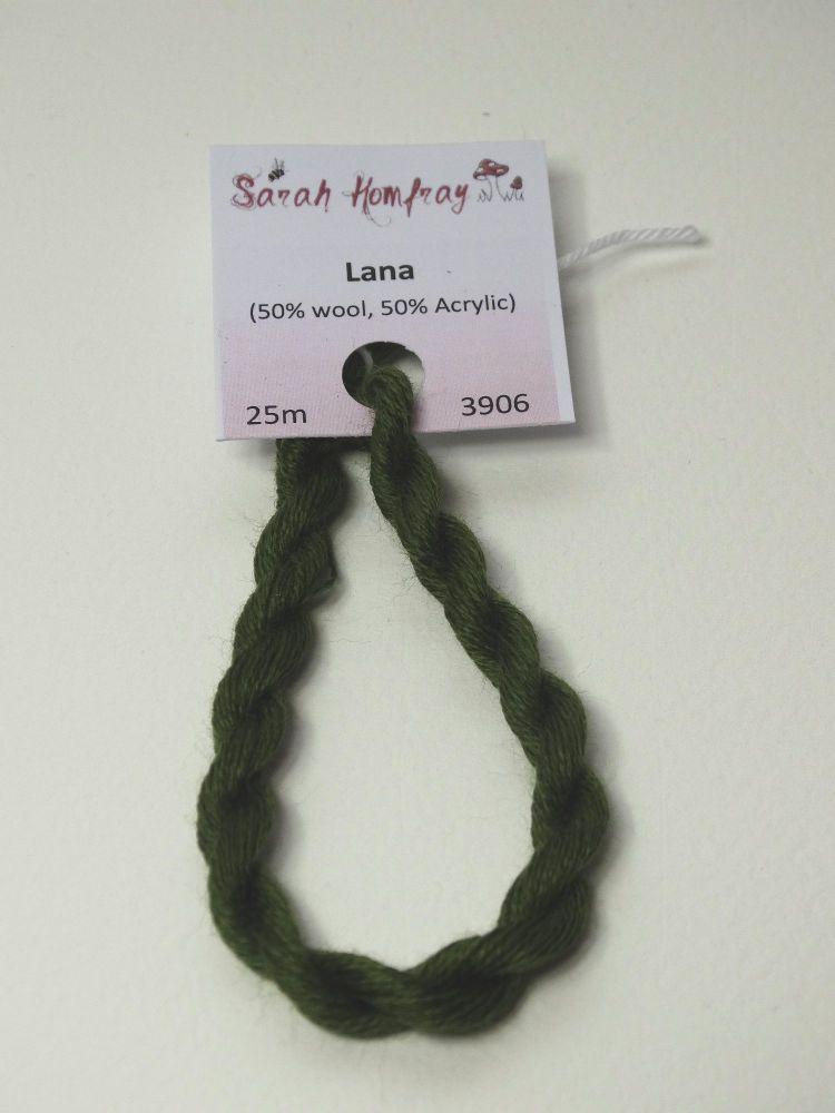3906 Dark sage Lana thread (green)