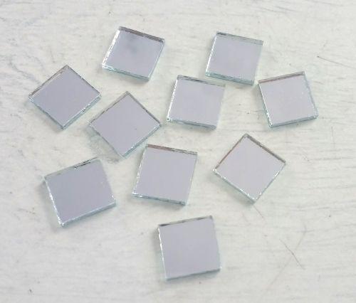 Square Shisha Mirrors (Qty 10, size 7mm x 7mm)