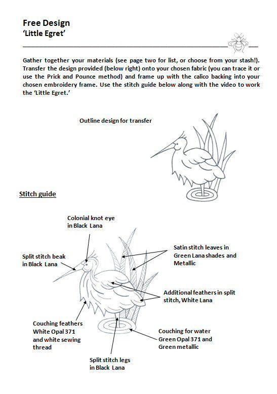 Littel Egret pdf image