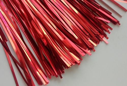 Plate ribbon, Poppy Red 1mm