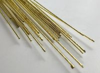 Paper covered wire, 26 guage GOLD