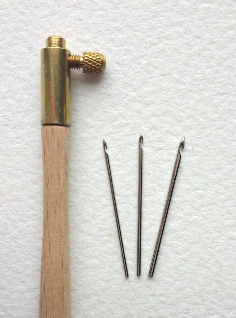 Tambour hook & 3 needles