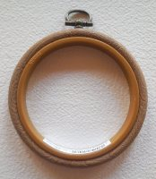 "Embroidery flexi hoop - Round 3"" diameter"