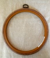 "Embroidery flexi hoop - Round 7"" diameter"