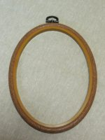 "Embroidery flexi hoop - Oval 5""x7"""
