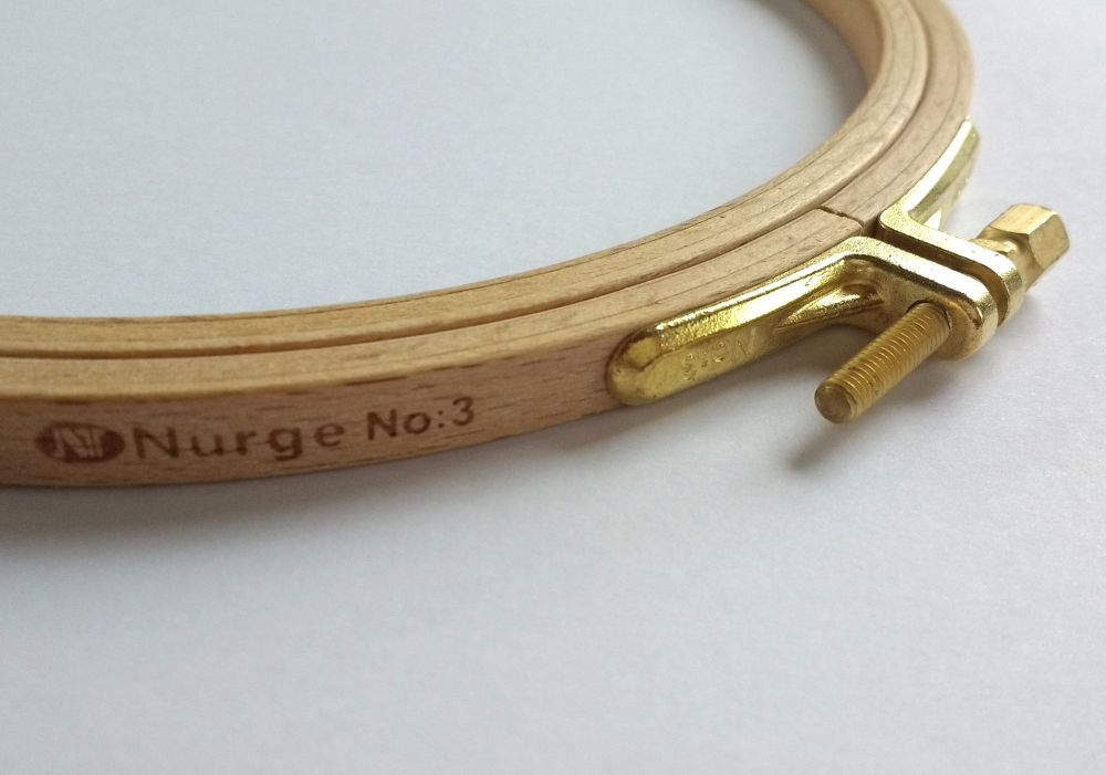 Embroidery hoop, Beech - 15.5cm/6inches
