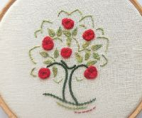 Crewelwork Apple Tree instructions - PDF Download