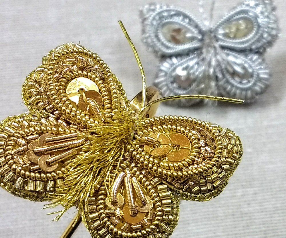Goldwork Butterfly