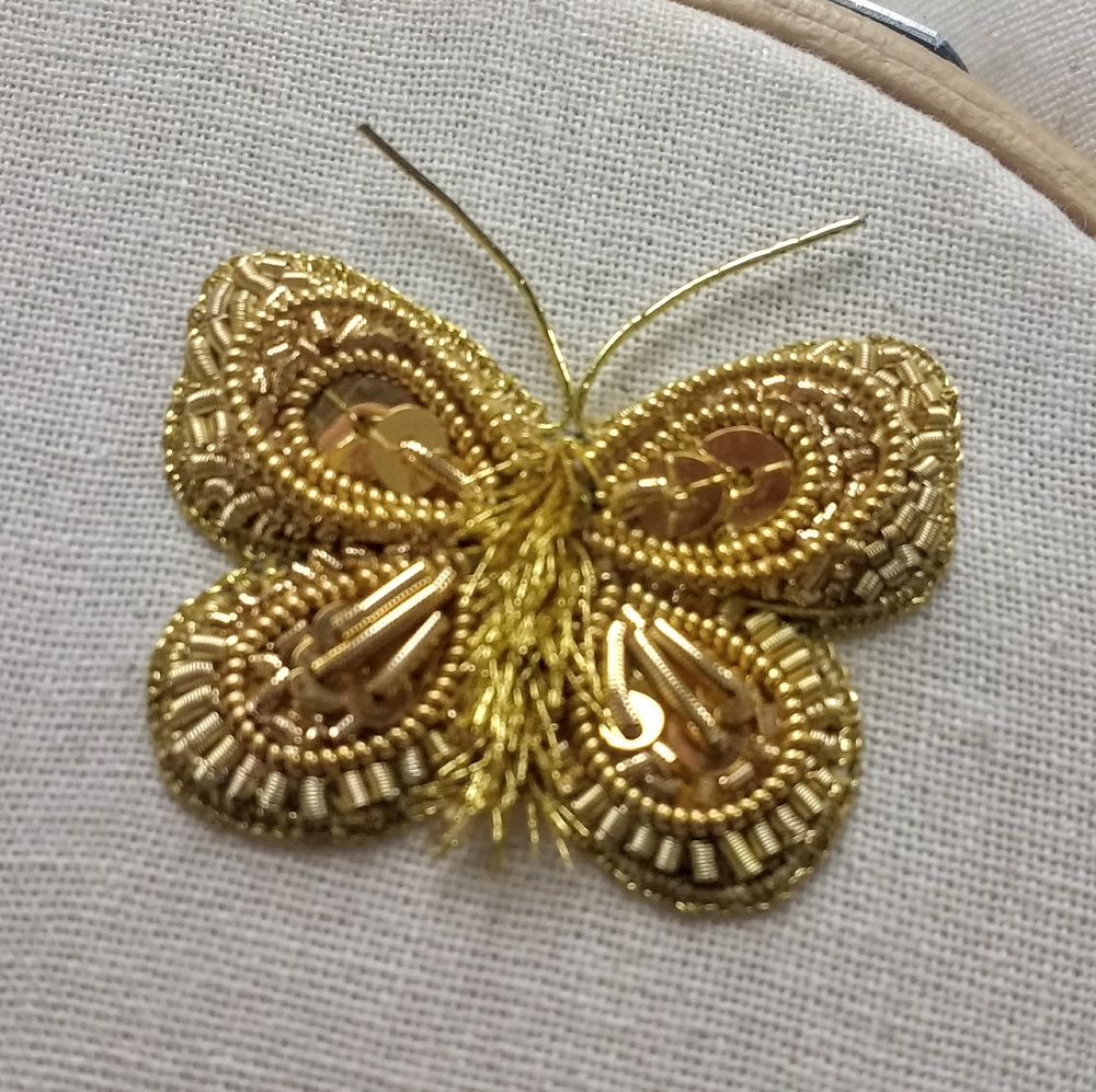 Gold Butterfly materials