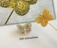Gold and Silver Butterfly instructions - PDF Download