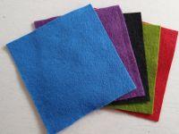 Felt square 10cm x 10cm Blue