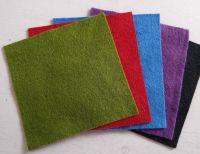Felt square 10cm x 10cm Green