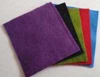 Felt square 10cm x 10cm Purple