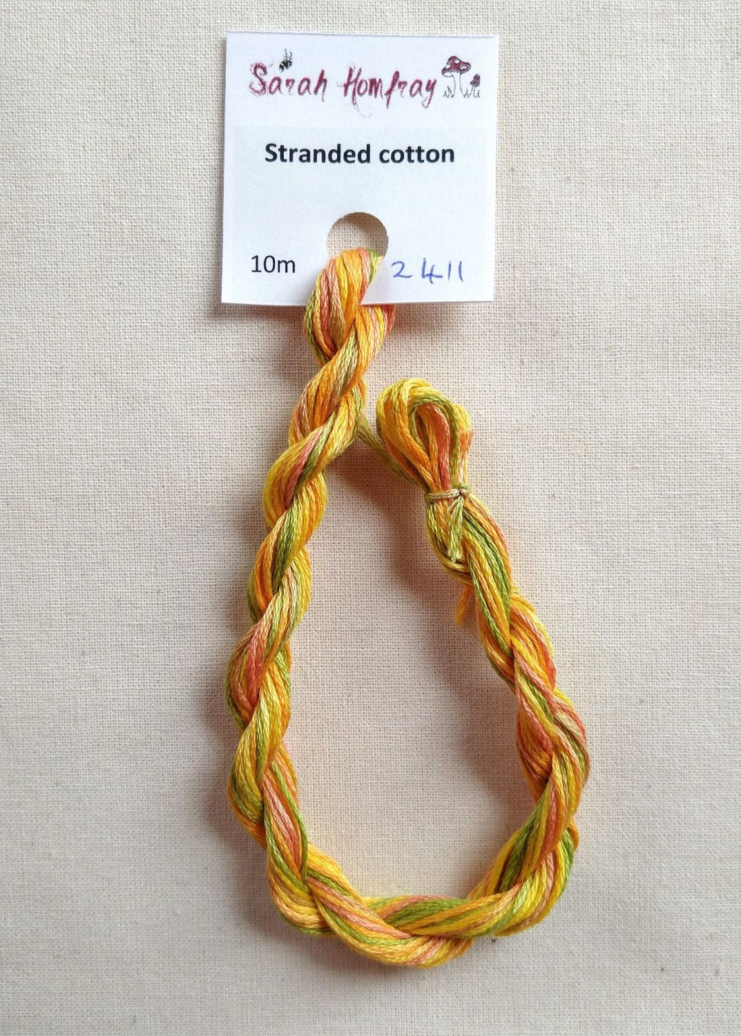 Madeira Stranded cotton, variegated -  Sunrise 2411