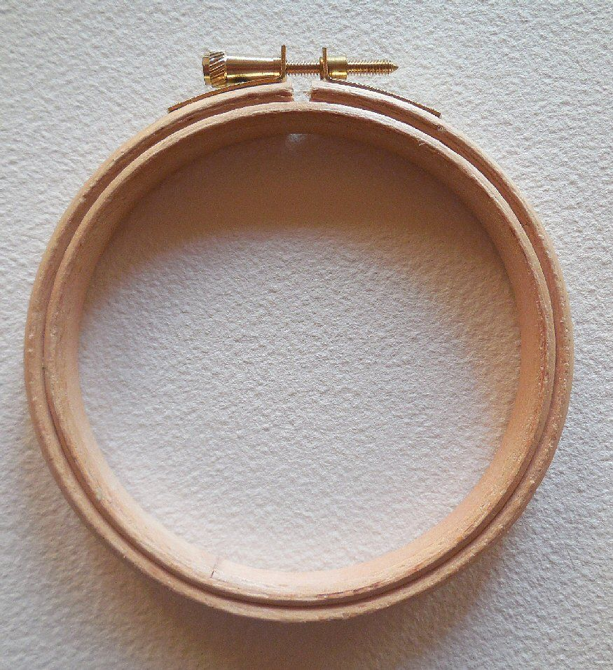 Embroidery hoop - 10cm/4inches