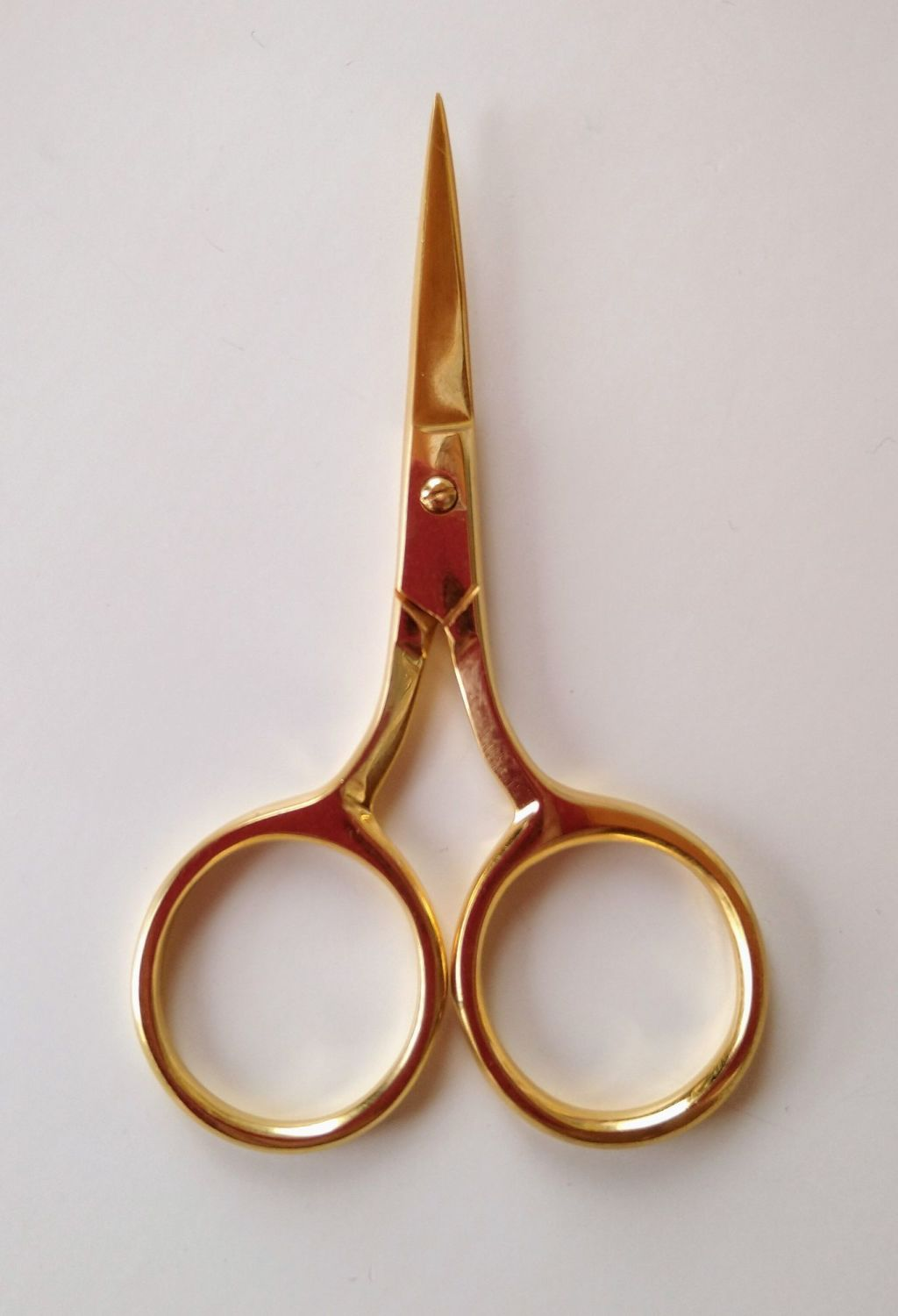Embroidery scissors for goldwork - Gold colour