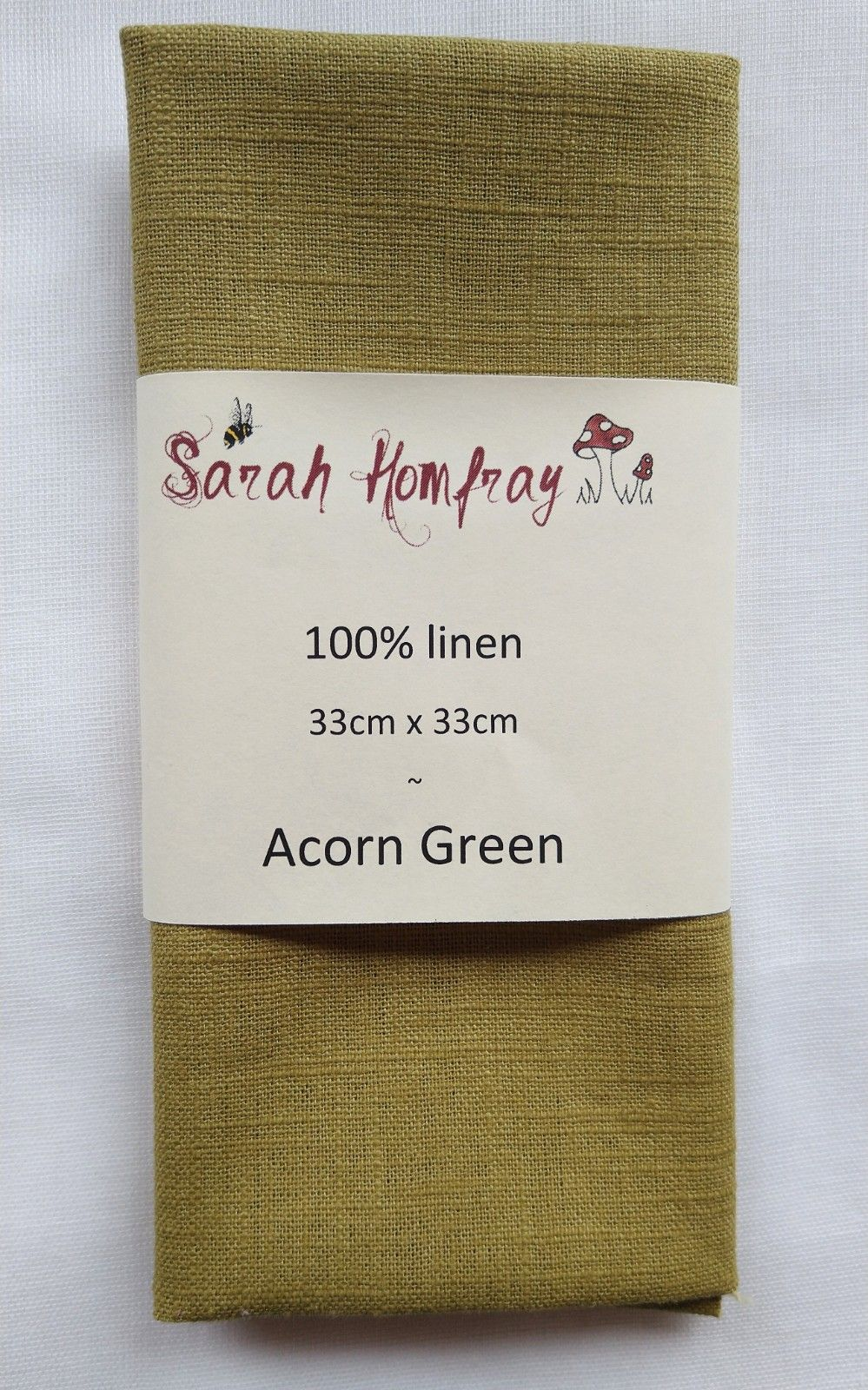 Linen - Acorn Green  NEW!