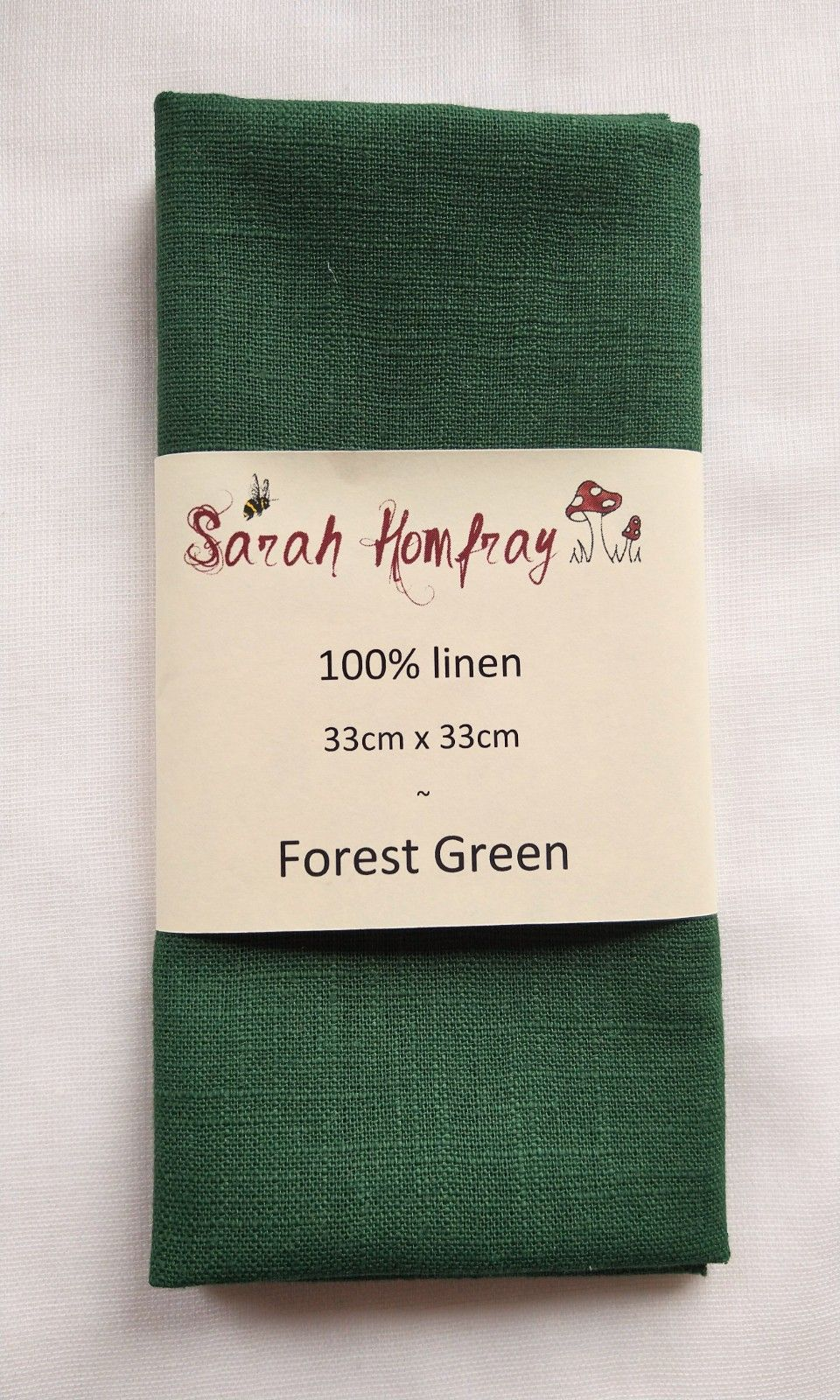 Linen - Forest Green  NEW!