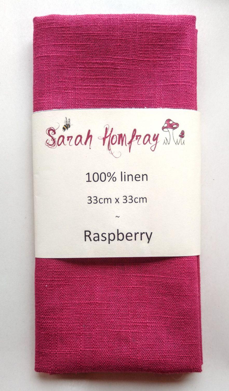 Linen - Raspberry  NEW!