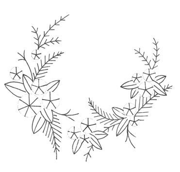 Wreath of roses design jpeg
