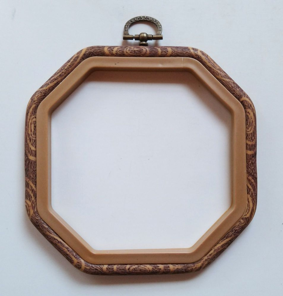Embroidery flexi hoop - Octagonal square  5