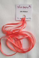 4mm Flamingo 224 silk ribbon