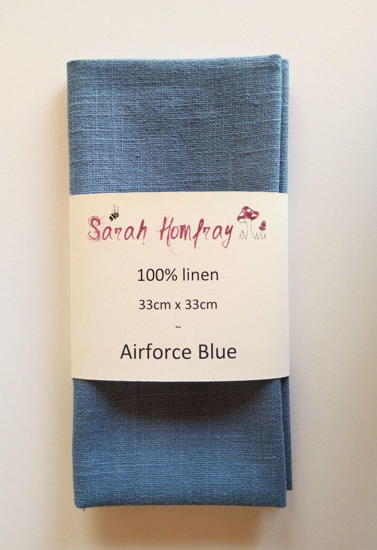 Linen - Airforce Blue