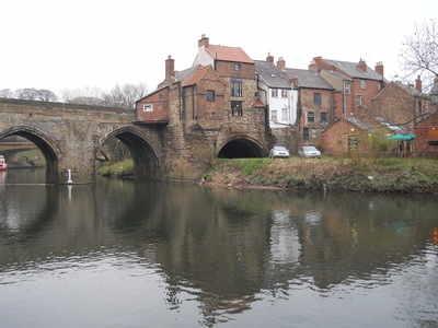 Durham river view