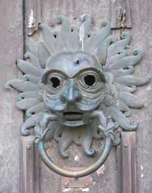 Door knocker, Durham Cathedral