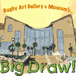 Rugby Big Draw event