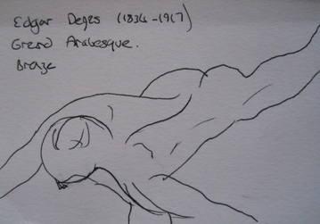 Degas sketch 1