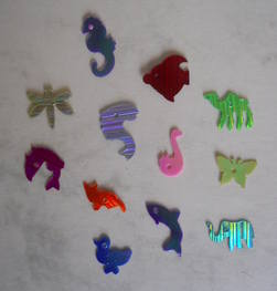 Animal shaped sequins