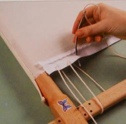 Bracing needle in action