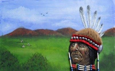 Jicarilla Apache Silk shading, 2010