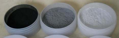 Powder pots