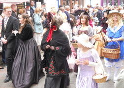 Dickens festival more ladies