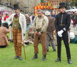 Dickens Festival down and outs