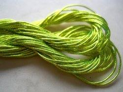 Lime green japan thread detail