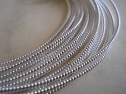 Pearl Purl No.2 silver plated embroidery metal
