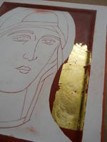 Icon gold leaf1